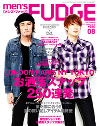 11men`s FUDGE-2011-8月号